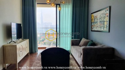 Exquisite apartment with beautiful minimalist style in D ' Edge for rent
