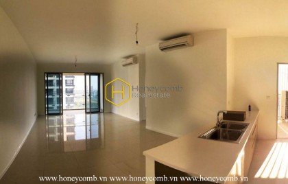 The unfurnished 3 bedrooms-apartment with extraordinary view from Estella Heights