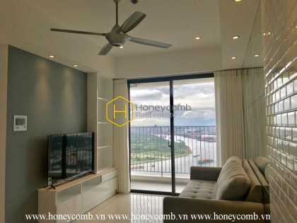 You will be impressed by this perfect 2 bedrooms-apartment with extraordinary view from Masteri An Phu