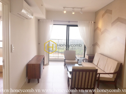 2 beds apartment with high floor and nice view in Masteri Thao Dien