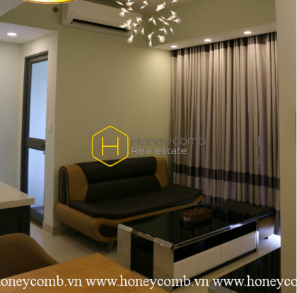 Brand new 2-beds apartment in Masteri Thao Dien for rent