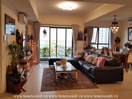 The 4 bedrooms-apartment is very spacious in Masteri Thao Dien