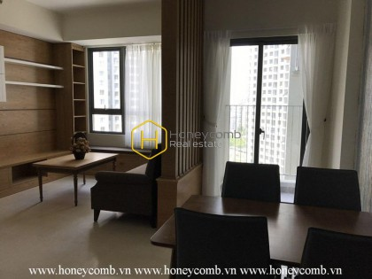 The 2 bedrooms-apartment with minimalism style in Masteri Thao Dien