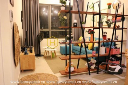 One bedroom apartment luxury design in Masteri Thao Dien for rent