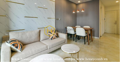A fascinating apartment for rent from Vinhomes Golden River is ready for you!