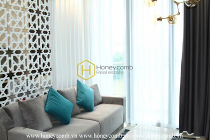 Get the chilled vibes through this exciting and palatial apartment in Vinhomes Golden River