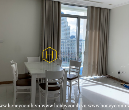 Shiny and basic apartment in Vinhomes Central Park for rent