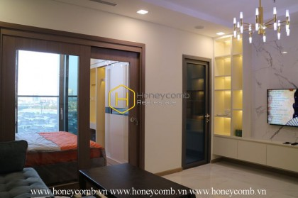 The most luxurious with 1 bedrooms apartment in Landmark 81