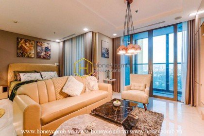 Enhancing your lifestyle with this opulent 1 bedroom-apartment at Landmark 81