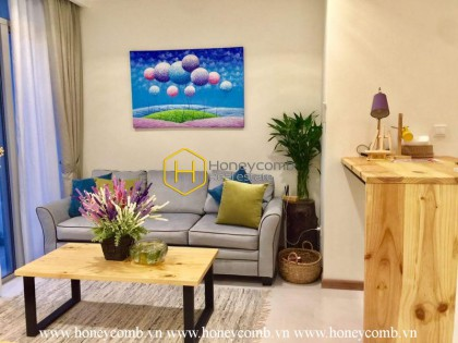 The warmest place where you'll want to come back is this 2 bed-apartment from Vinhomes Central Park