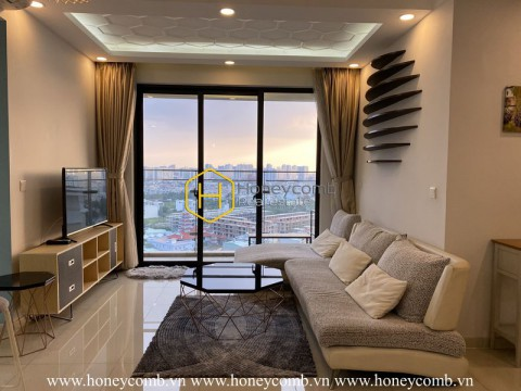 Luxury design 2 beds apartment with high floor in The Estella Heights