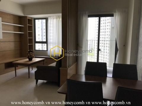 Căn hộ 2 phòng ngủ với phong cách tối giản ở Masteri Thảo Điền cho thuê