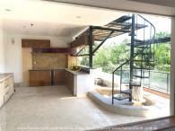 A creative design of the District 2 villa will interest you