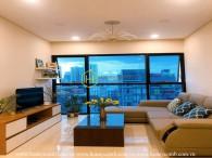 Căn hộ 2 phòng ngủ xinh xắn cho thuê tại The Ascent Thảo Điền