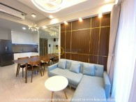 2 bedrooms- apartment with bright design & fresh space at Masteri An Phu