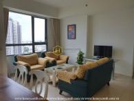 Căn hộ 2 phòng ngủ hiện đại tại Masteri Thảo Điền cho thuê