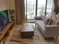 Luxury design 2 bedrooms apartment in The Nassim Thao Dien