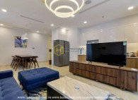 Can't blink your eyes as admiring the beauty of Vinhomes Golden River apartment for rent