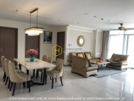 Sang trọng và tiện nghi với căn hộ 4 phòng ngủ cho thuê tại Vinhomes Central Park