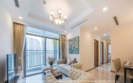 Vinhomes Central Park apartment: Impressed and warm in elegant gray