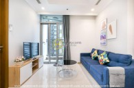 Smart layout with smart furniture in Vinhomes Central Park apartment