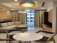 Cheer your mood up with this youthful Vinhomes Central Park apartment