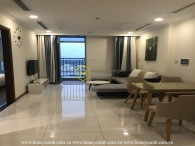 Rarely available! Unique urban apartment in Vinhomes Central Park is now for rent!