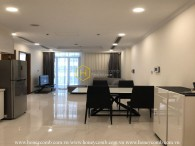 1-bedroom apartment with lovely and sweet decor in Vinhomes Central Park