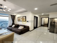 This stunning furnished apartment that you can not take eyes off in Vinhomes Central Park