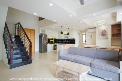 Duplex four beds aparmtent luxury in Masteri Thao Dien for rent