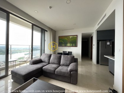 Luxury design 3 bedrooms apartment in Nassim Thao Dien for rent