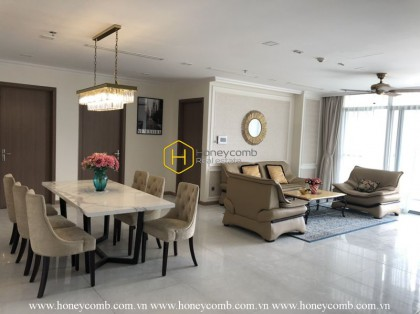 Luxury and Comfortable with 4 bedrooms apartment in Vinhomes Central Park