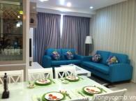 Cho thuê căn hộ Pearl Plaza, nội thất đẹp, lầu cao