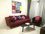 Beautiful floral decorated 2 bedrooms apartment in The Ascent for rent