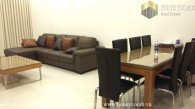 Three beds apartment city view and river view in Thao Dien Pearl for rent