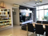 Beautiful modern style 3-beds apartment low floor in The Vista An Phu