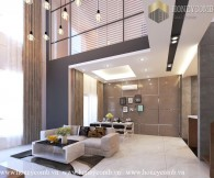 Penthouse 4-bedrooms apartment with luxury design in Tropic Garden for rent