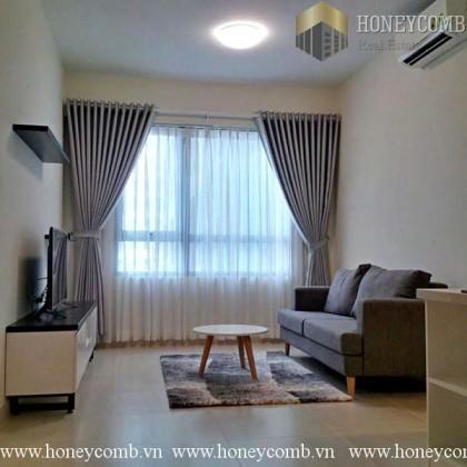 One bedroom apartment luxury design in Masteri Thao Dien for rent