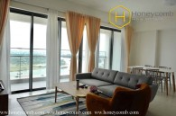 3-bedroom apartment for rent with direct river views in The Gateway