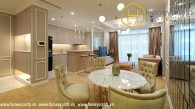 Luxurious design with 2 bedroom in Vinhomes Central Park