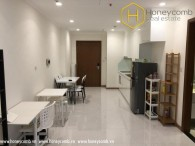 Fully furnished 1 bedroom in Vinhomes Central Park for rent
