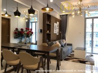 Good furniture with 1 bedroom apartment in Vinhomes Central Park for rent