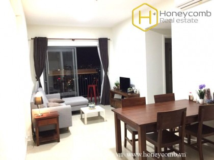 Cheap price! Two bedroom apartment with river view and high floor in Masteri for rent