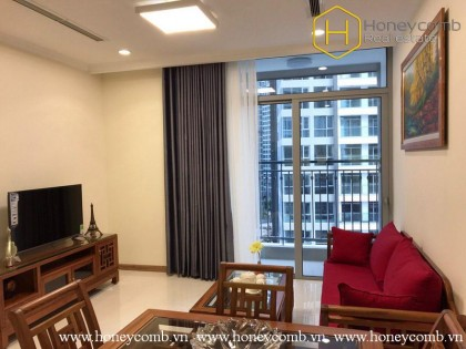 Good furniture with 01 bedroom apartment in Vinhomes Central Park