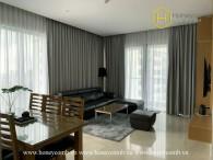Căn hộ tông màu ấm áp đáng yêu với nội thất cao cấp tại Diamond Island