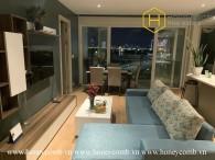 Khám phá căn hộ tuyệt vời cùng tầm nhìn ra đô thị rực rỡ ở Diamond Island