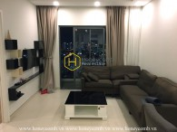 Two bedroom apartment city view in Masteri for rent