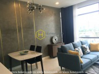 Unique and eye-catching 1 bedroom apartment for rent in Nassim Thao Dien