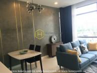 Căn hộ 1 phòng ngủ với thiết kế độc đáo và bắt mắt đang cho thuê tại The Nassim Thảo Điền