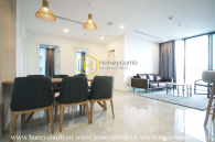 Sophistication is all about this Vinhomes Golden River apartment
